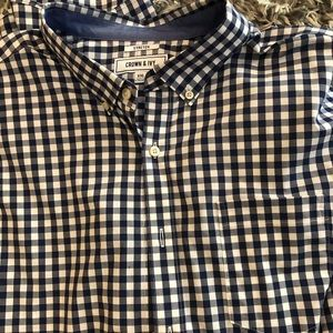 MENS CROWN AND IVY XXL BUTTON DOWN LIKE NEW